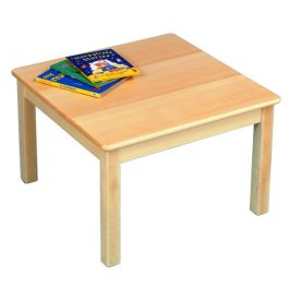 Solid Beech Square Nursery Table