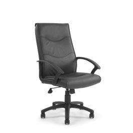 Swithland High Back Black Leather Executive Office Chair