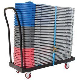 Zlite 40 x Fan Back Folding Chair & Flat Bed Trolley Deal