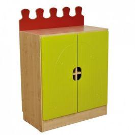 4 Section Castle Cupboard