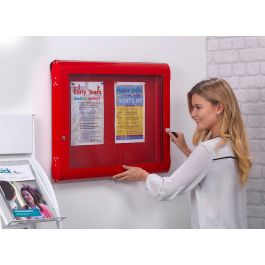 FlameShield Premium Internal Showcase Noticeboard