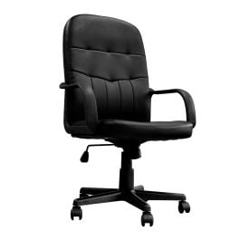 Orion Office High Back Leather Faced Managers Chair
