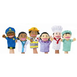 Let's Talk Community Helpers Puppet - Set 6