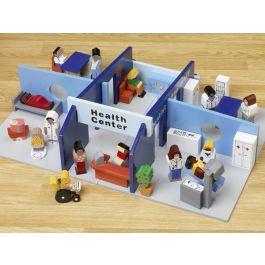Children's Pretend Play Health Centre Set