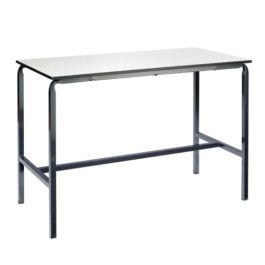Laboratory Table With Duraform Edge - Crushed Bent Frame