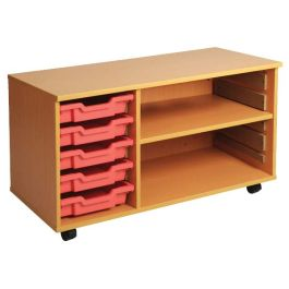 Combi-Store Tray and One Shelf Storage