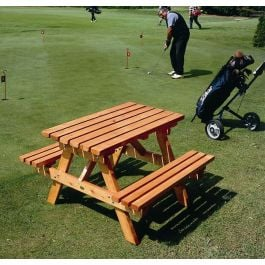 Cotswold Heavy Duty Wooden Picnic Bench