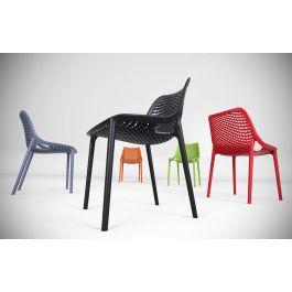 Denver Polypropylene Cafe Bistro Side Chair