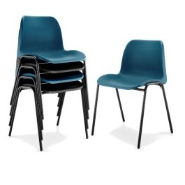 Hille Eco Polypropylene Stacking Chair