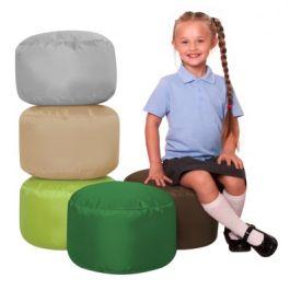 School Seat Pod Bean Bags - Pack of 5 (Naturals)