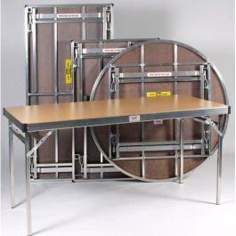 Easylift Lightweight Aluminium Rectangular Folding Table