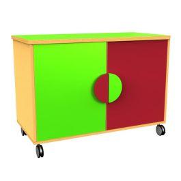 Funky Double Mobile Cupboard
