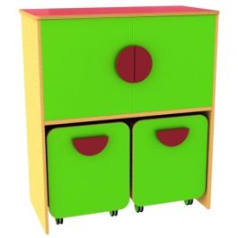Funky Storage Docking Cupboard