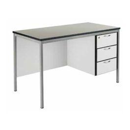 Fully Welded Teachers Desk, MDF Edge