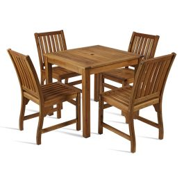 Hardy All Wood Outdoor Dining Set