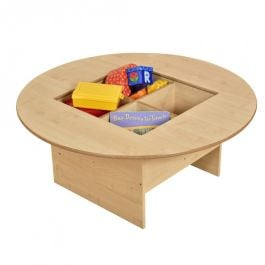 Childrens Maple Browser Table