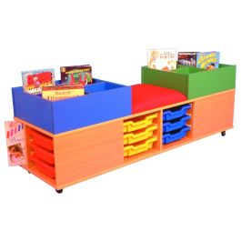 Mobile Kinderbox Seat and Storage centre