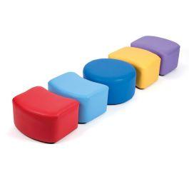 Children's Modular Seating Circular - Set of 5