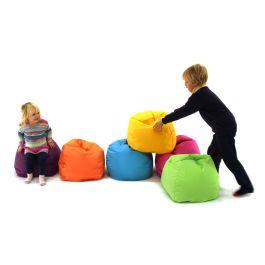 Pre School & Primary Bean Bag Indoor/Outdoor - (Pack of 6)