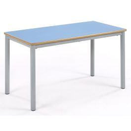 Metalliform Premium Coloured Rectangular Chunky Classroom Table