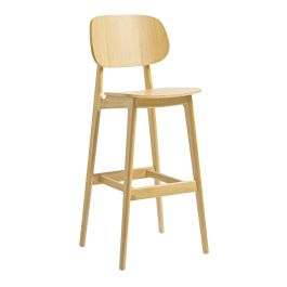 REL Wooden Cafe High Stool