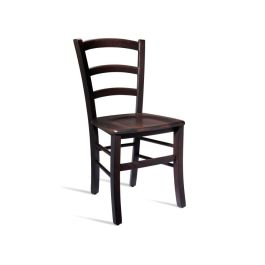 ROSSO Contemporary Wooden Side Chair - Wenge