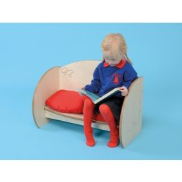 Mini Range Nursery Children's Bench with Seat Pad