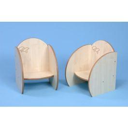 Mini Range Children's Nursery Chairs - Set of 2