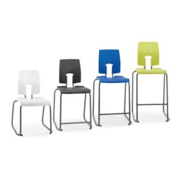 Hille SE School Lab Stool with Back