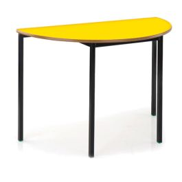 Contract Fully Welded Semi Circular Classroom Table