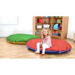 Giant Round Bean Bag - Set of 3 Bright Colours