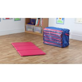 Snoozemat Silver Sleep Mats with Holdall - Set of 6