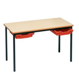 Rectangle Classroom Tables With Trays