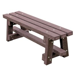 Trail Recycled Plastic Outdoor Bench