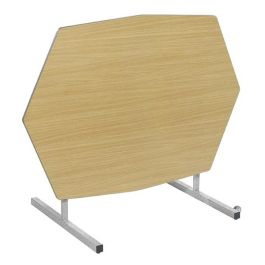 Octagonal Tilt Top Table with MDF edge
