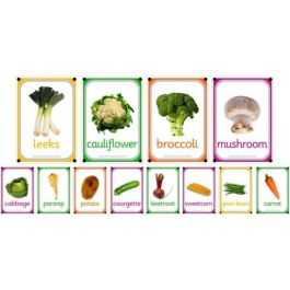 A4 Outdoor Learning Boards - Vegetables
