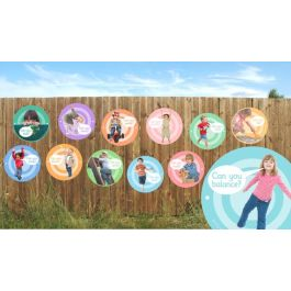 Outdoor Learning Boards 'I Can Do'