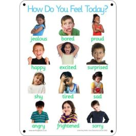 Outdoor Learning Boards - Photo Emotions