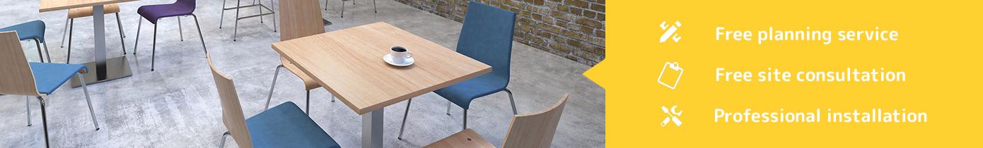 Public Area tables