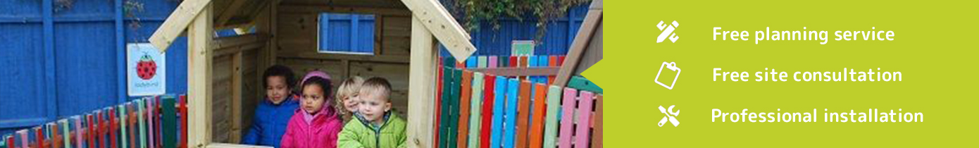 Outdoor Playhouse and Dens